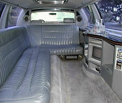 Lincoln Superstretch Limousine 2000 innen